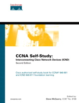 CCNA Self-Study: Interconnecting Cisco Network Devices (ICND) 640-811, 640-801, 2nd Edition