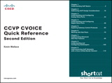 CCVP CVOICE Quick Reference (Digital Short Cut), 2nd Edition