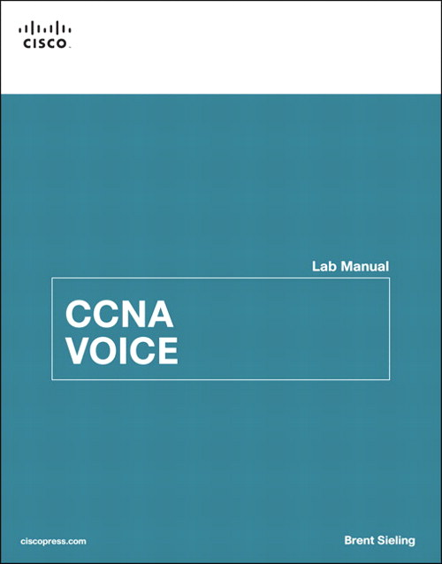 Sieling:CCNA Voice Lab Manual _p1