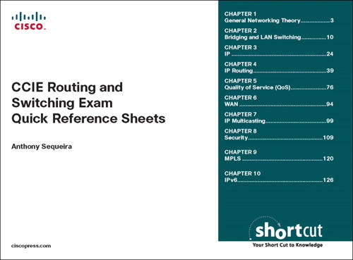 CCIE Routing and Switching Exam Quick Reference: Exam 350-001 v3.1
