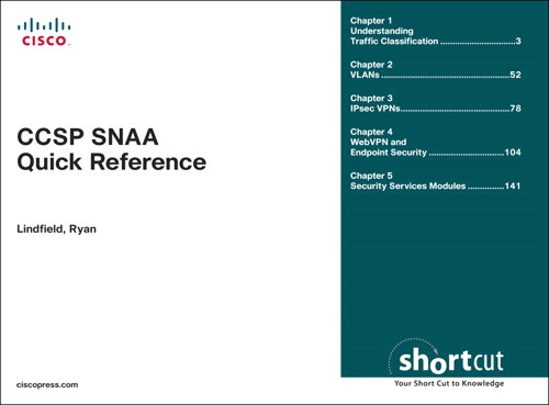 CCSP SNAA Quick Reference