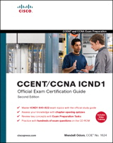 CCENT/CCNA ICND1 Official Exam Certification Guide (CCENT Exam 640-822 and CCNA Exam 640-802), 2nd Edition