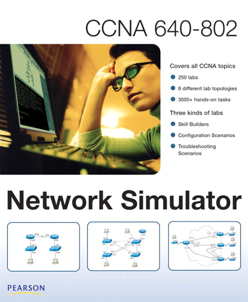 CCNA 640-802 Network Simulator