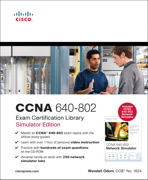 CCNA 640-802 Exam Certification Library, Simulator Edition