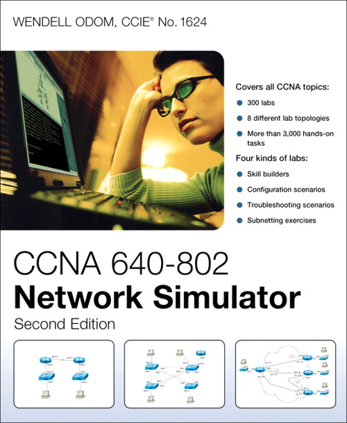 CCNA 640-802 Network Simulator, 2nd Edition