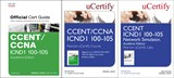 CCENT ICND1 100-105 Pearson uCertify Course, Network Simulator, and Textbook Academic Edition Bundle