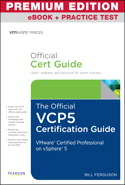 The Official VCP5 Certification Guide, Premium Edition eBook and Practice Test