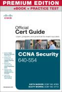 CCNA Security 640-554 Official Cert Guide, Premium Edition eBook and Practice Test