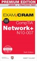 eBook cover: CompTIA Network+ N10-007 Exam Cram, Premium Edition and Practice Test