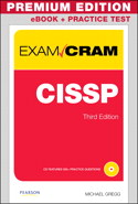 CISSP Exam Cram, Premium Edition eBook and Practice Test