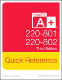 CompTIA A+ Quick Reference (220-801 and 220-802), 3rd Edition